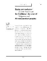 quality design e14a1 8cb42 Equity and exclusion in Latin America and the Caribbean  the case of ...
