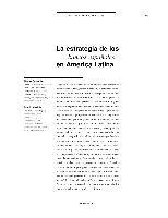 La estrategia de los bancos españoles en América Latina