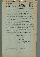 Carta dirigida por el Presidente del Consejo Económico y
