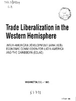 A Western Hemisphere Free Trade Area Implications For Latin
