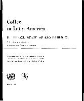 El Café En América Latina 2 Estado De Sao Paulo Brasil