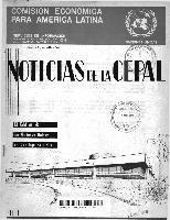 Noticias de la CEPAL Año 1966 N° 7 | Digital Repository | Economic ...