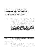 Education system institutions and educational inequalities in Uruguay