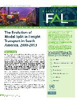 The Evolution Of Modal Split In Freight Transport In South