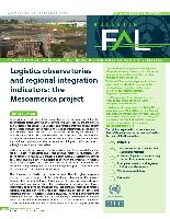 Logistics observatories and regional integration indicators