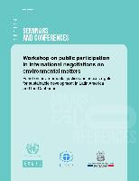 Workshop On Public Participation In International