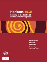 Horizons 2030: Equality at the centre of sustainable development
