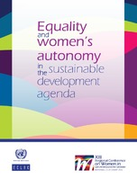 3c70bde0f Equality and women s autonomy in the sustainable development agenda ...