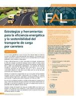 Estrategias y herramientas para la eficiencia energética y la sostenibilidad del transporte de carga por carretera