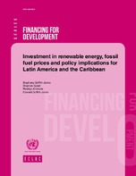 Investment in renewable energy, fossil fuel prices and policy implications for Latin America and the Caribbean