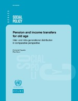 Pension And Income Transfers For Old Age Inter And Intra
