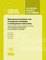 Mainstreaming Disaster Risk Management Strategies In