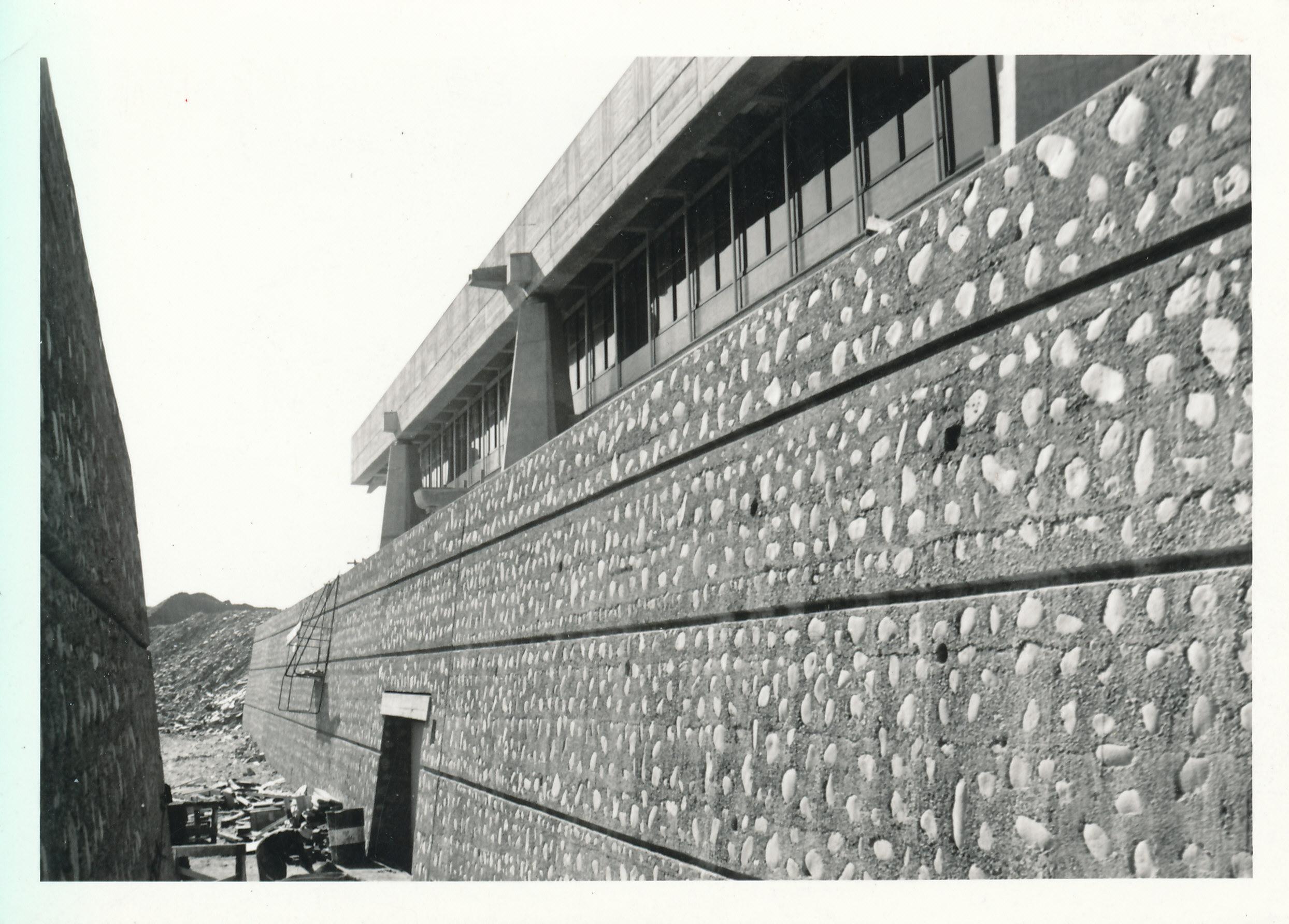 Construcción del edificio de la CEPAL | Digital Repository ...