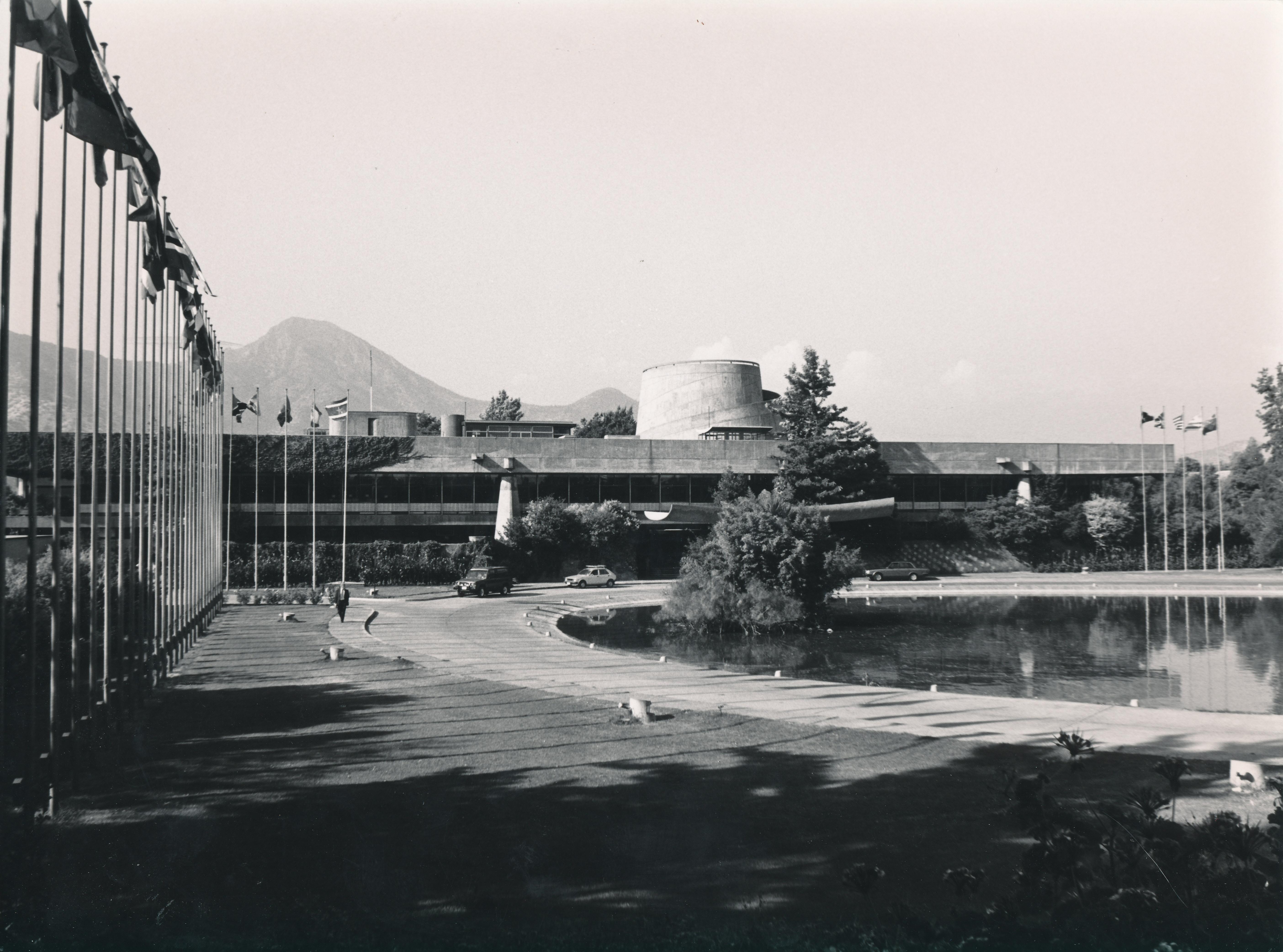 Edificio sede de la CEPAL | Digital Repository | Economic Commission ...