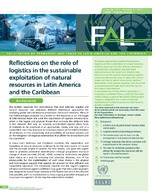 Reflections On The Role Of Logistics In The Sustainable