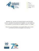 Informe del proceso de priorización de indicadores para el seguimiento  estadístico regional de los Objetivos de Desarrollo Sostenible en América  Latina y el ... 0f0da8da23c