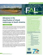 Advances in the classification of inland waterways in South ...