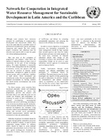 issue No. 49 of the Circular of the Network for Cooperation in Integrated Water Resource Management for Sustainable Development in Latin America and the Caribbean