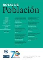 Notas de Población Vol. 45 N° 107