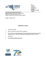 Provisional Agenda  Eighteenth meeting of the Executive