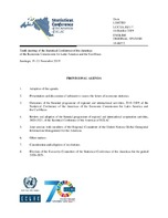 Provisional agenda  Tenth meeting of the Statistical