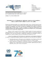 Informe De Las Actividades Del Grupo De Coordinacion Estadistica
