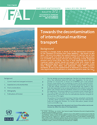 Towards The Decontamination Of International Maritime Transport Digital Repository Economic Commission For Latin America And The Caribbean