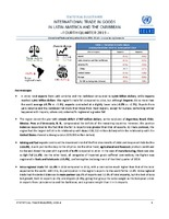 Statistical Bulletin: International Trade in Goods in Latin America and the Caribbean - fourth quarter 2019 - 38