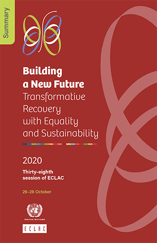 Building a New Future: Transformative Recovery with Equality and Sustainability. Summary