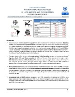 Statistical Bulletin: International Trade in Goods in Latin America and the Caribbean - second quarter 2020 - 40