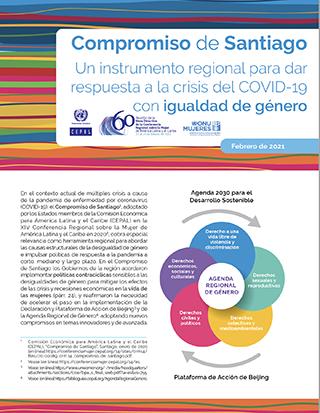 Compromiso de Santiago: un instrumento regional para dar respuesta a la crisis del COVID-19 con igualdad de género