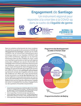 Engagement de Santiago: Un instrument régional pour répondre à la crise liée à la COVID-19 dans le cadre de l'égalité de genre