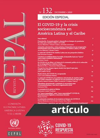 El COVID-19 y la protección social de los grupos pobres y vulnerables en América Latina: un marco conceptual
