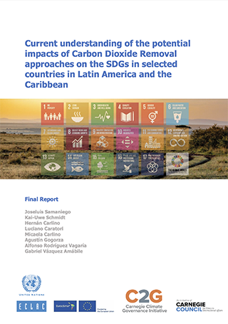 Current understanding of the potential impacts of Carbon Dioxide Removal approaches on the SDGs in selected countries in Latin America and the Caribbean