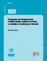 Programas de transferencias condicionadas, políticas